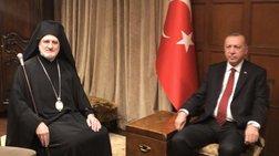ΟΗΕ: Συνάντηση του Αρχιεπισκόπου Ελπιδοφόρου με τον Ερντογάν