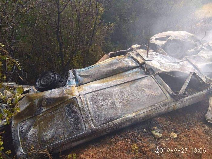 Φωτιά στο Κρυονέρι - εντοπίστηκε νεκρός σε ΙΧ