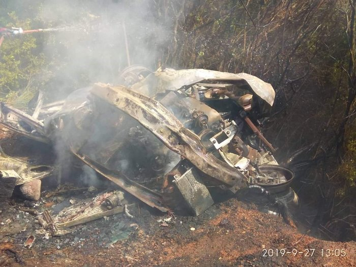 Φωτιά στο Κρυονέρι - εντοπίστηκε νεκρός σε ΙΧ - εικόνα 2