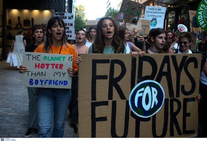 Νέα μαθητική πορεία για τη κλιματική αλλαγή στο Σύνταγμα - εικόνα 2