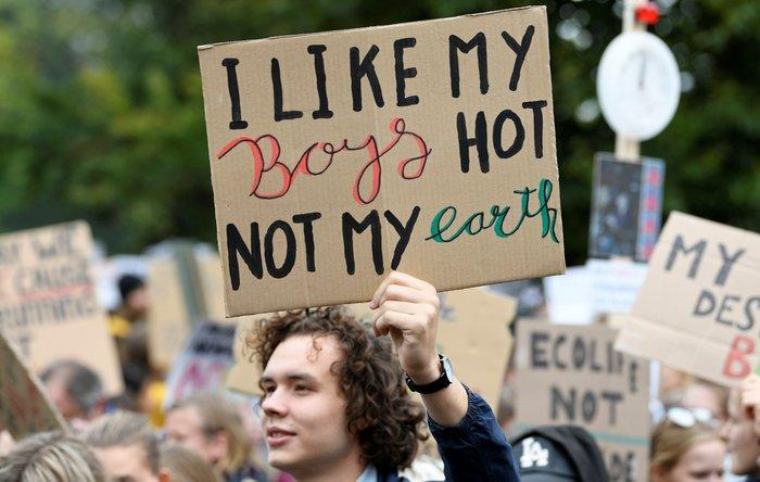 Η ομιλία της Γκρέτα εμπνέει τις διαδηλώσεις για το κλίμα