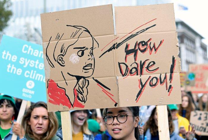 Η ομιλία της Γκρέτα εμπνέει τις διαδηλώσεις για το κλίμα - εικόνα 3