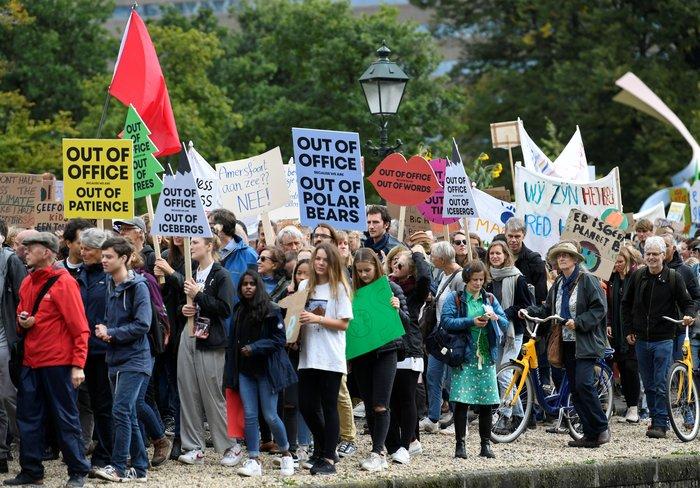 Η ομιλία της Γκρέτα εμπνέει τις διαδηλώσεις για το κλίμα - εικόνα 4