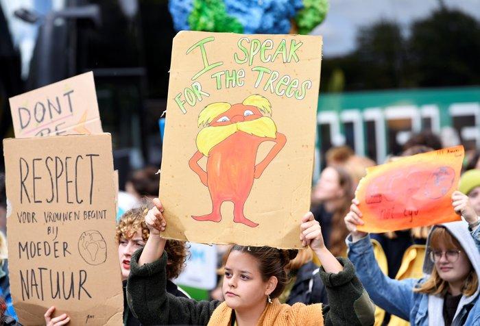 Η ομιλία της Γκρέτα εμπνέει τις διαδηλώσεις για το κλίμα - εικόνα 5