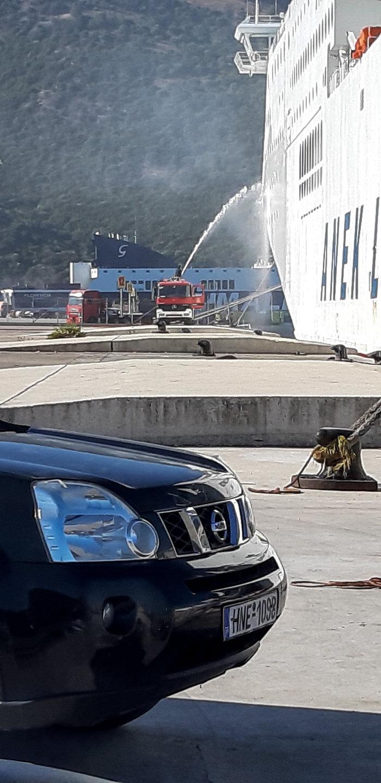 Συναγερμός στην Ηγουμενίτσα: Φωτιά σε πλοίο με 538 επιβάτες - εικόνα 4