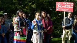Μεγάλη διαδήλωση στο Μόντρεαλ για το κλίμα με την Γκρέτα Τούνμπεργκ