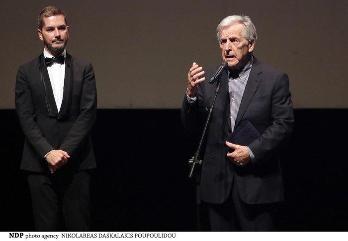 Η πρεμιέρα της ταινίας και το βραβείο για τον Κώστα Γαβρά