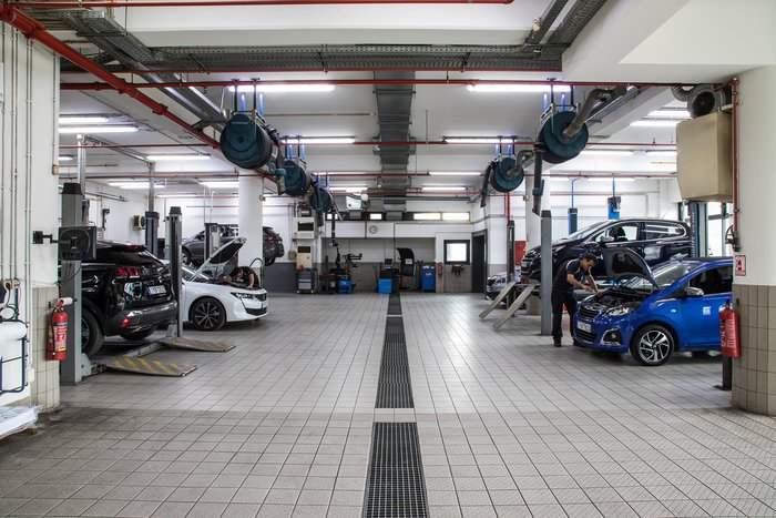 Νέα μονάδα service Peugeot δίπλα στο δαχτυλίδι του ΟΤΕ