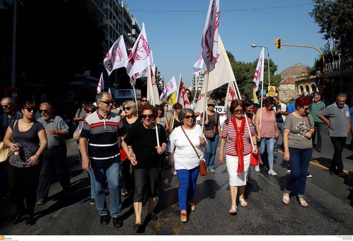 Απεργία: Σε χρόνο... ρεκόρ οι πορείες και με μικρή συμμετοχή - εικόνα 14