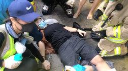 Κίνα: Στο δικαστήριο οι πρώτοι διαδηλωτές που φορούσαν μάσκα