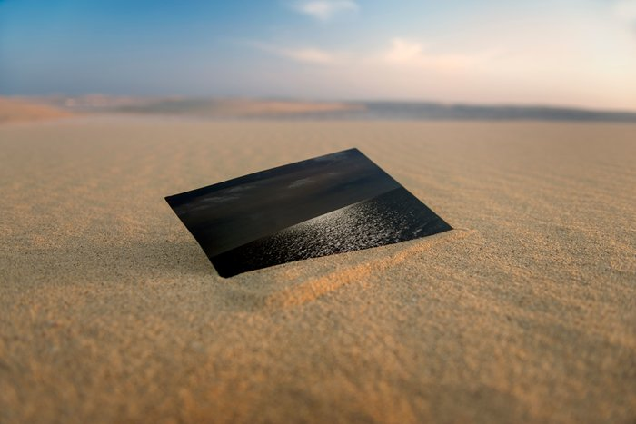 Ερημος και θάλασσα από τον πρίγκιπα Νικόλαο στο Μουσείο Μπενάκη