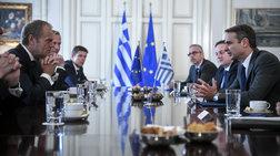 Μητσοτάκης-Τουσκ: Τα 3 ζητήματα που έπεσαν στο τραπέζι
