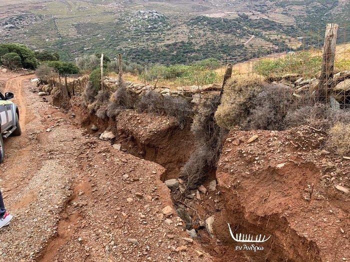 Μενεγάκη - Παντζόπουλος: Μεγάλη καταστροφή στo ξενοδοχείο τους στην Άνδρο - εικόνα 6