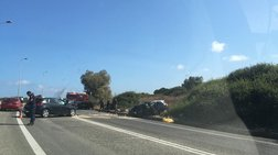Κρήτη: Νέα τραγωδία στην άσφαλτο - Νεκρή σε σφοδρή σύγκρουση