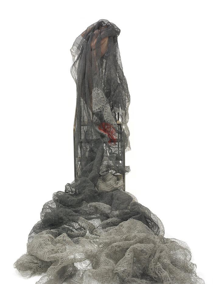 ΄Εργο της, Κυπριακής καταγωγής, καλλιτέχνιδας, Μαρίας Λοϊζίδου, που φιλοξενείται στην 7η Biennale