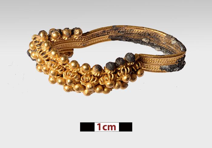 Χρυσό δαχτυλίδι (φωτ. Π. Βεζυρτζής).