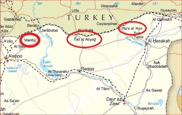 Interfax: Συριακές δυνάμεις ελέγχουν την Μανμπιτζ και την γύρω περιοχή