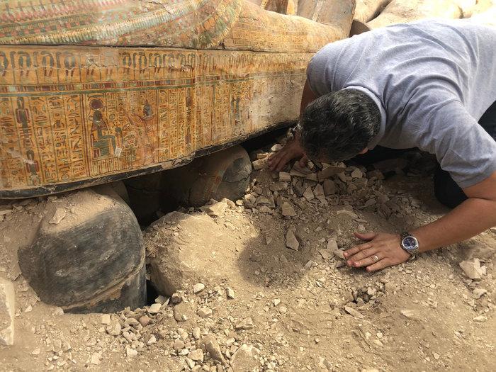 Δείτε τις σαρκοφάγους που ανακαλύφθηκαν δυτικά του Νείλου-Εντυπωσιακές φωτό