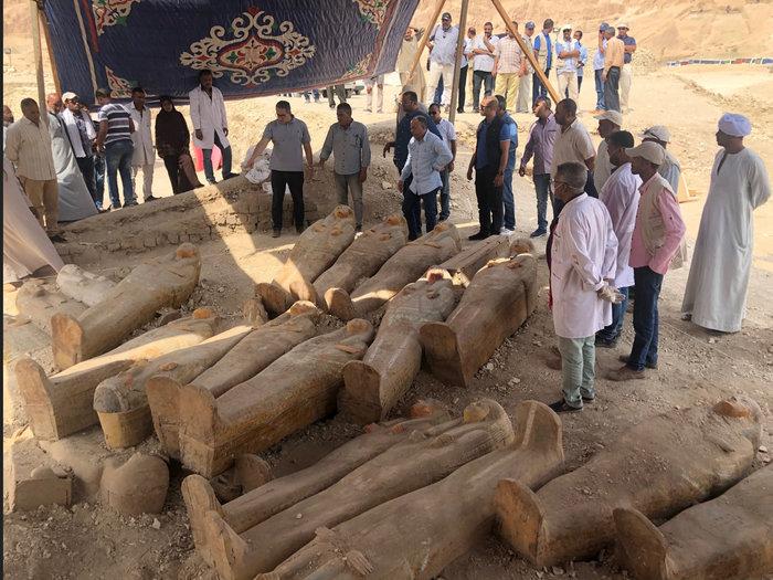 Δείτε τις σαρκοφάγους που ανακαλύφθηκαν δυτικά του Νείλου-Εντυπωσιακές φωτό - εικόνα 2