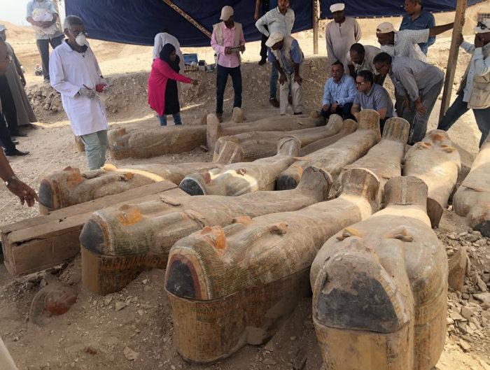 Δείτε τις σαρκοφάγους που ανακαλύφθηκαν δυτικά του Νείλου-Εντυπωσιακές φωτό - εικόνα 3