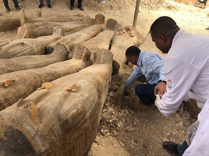 Δείτε τις σαρκοφάγους που ανακαλύφθηκαν δυτικά του Νείλου-Εντυπωσιακές φωτό - εικόνα 4
