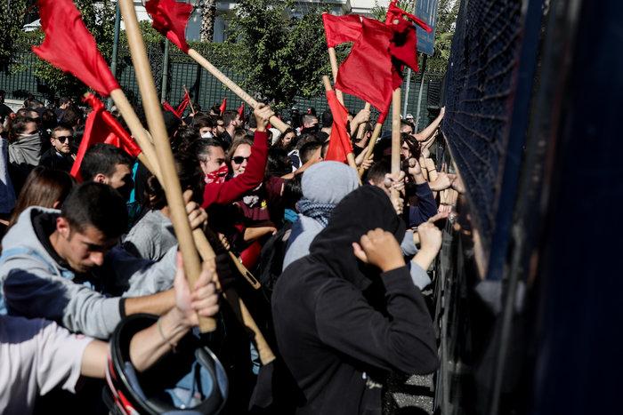 Χημικά και ένας τραυματίας στην πορεία των φοιτητών στην Αθήνα (φωτό) - εικόνα 3