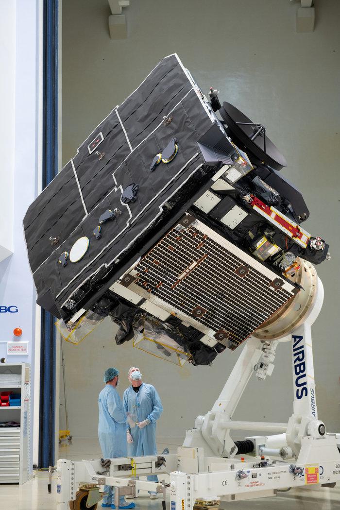 Τεχνολογία με σφραγίδα από τον 'Εβρο για το Διάστημα.