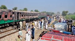 Τραγωδία σε τρένο στο Πακιστάν: Πάνω από 71 νεκροί από φωτιά