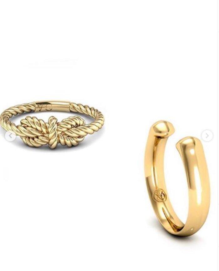 Το κρυφό μήνυμα πίσω από τα χρυσά δαχτυλίδια της Μέγκαν Μαρκλ [Εικόνες] - εικόνα 3