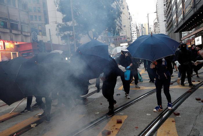 Νέα επεισόδια στο Χονγκ Κονγκ σε αντικυβερνητική συγκέντρωση
