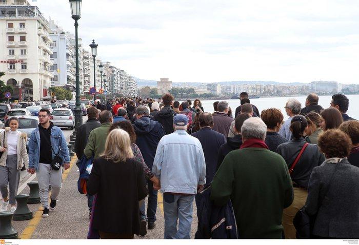 Πορεία Σιωπηλής Συγγνώμης προς τους Εβραίους της Θεσσαλονίκης (φωτό)