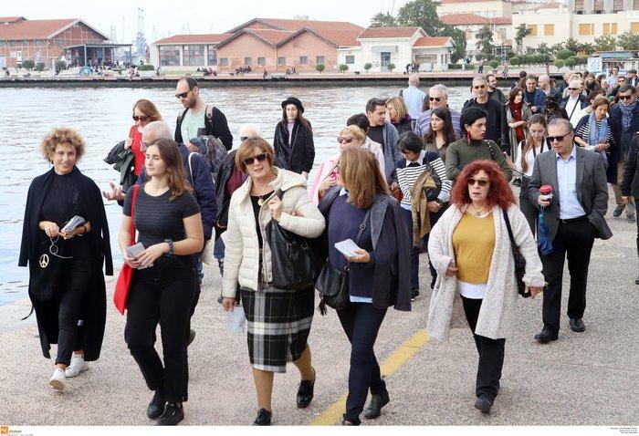 Πορεία Σιωπηλής Συγγνώμης προς τους Εβραίους της Θεσσαλονίκης (φωτό) - εικόνα 2