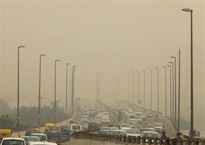 «Θάλαμος αερίων» το Νέο Δελχί από την ατμοσφαιρική ρύπανση [Εικόνες] - εικόνα 2