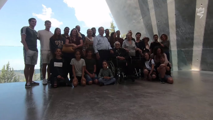 Μελπομένη Ντίνα: Η 92χρονη συνάντησε τους Εβραίους που έσωσε από τους Ναζί