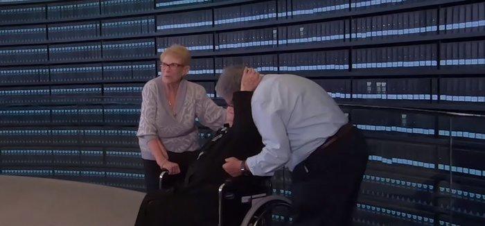 Μελπομένη Ντίνα: Η 92χρονη συνάντησε τους Εβραίους που έσωσε από τους Ναζί - εικόνα 2