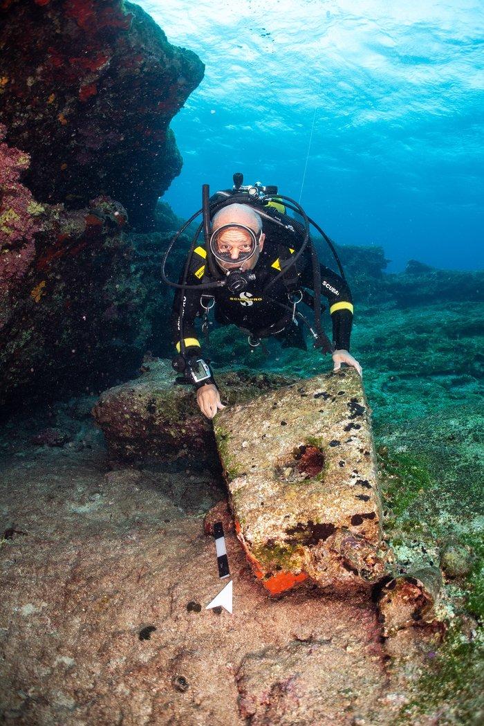 Εντυπωσιακά αρχαιολογικά ευρήματα από το βυθό της Κάσου