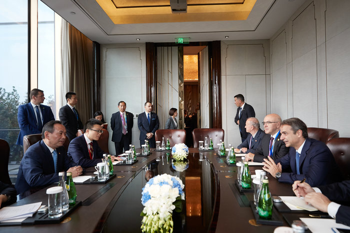 Μητσοτάκης σε Σι Τζινπίνγκ: Αποφασισμένοι για ξένες επενδύσεις - εικόνα 3