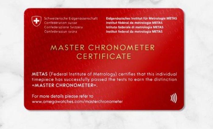 OMEGA: Ο μηχανισμός Master Chronometer ανεβάζει πολύ ψηλά τον πήχη