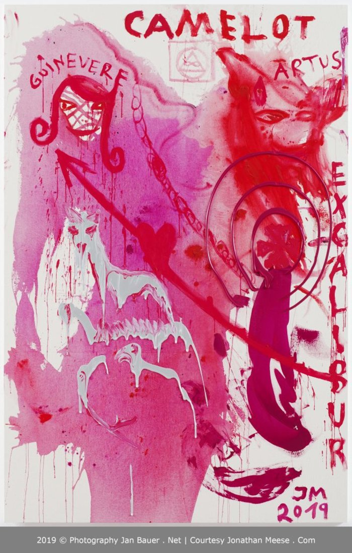 Τα νέα έργα του Jonathan Meese στη γκαλερί Bernier-Eliades - εικόνα 3