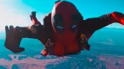 Ντύθηκε σαν τον Deadpool και πήδηξε από τα... 3.600 μέτρα