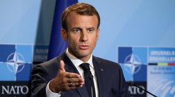 Μακρόν: Αυτό που ζούμε είναι ο εγκεφαλικός θάνατος του ΝΑΤΟ