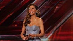 Δέσποινα Βανδή: Με πριγκιπικό φόρεμα στη σκηνή του X Factor