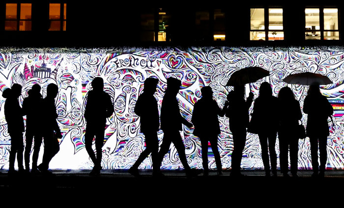Ένα έργο τέχνης για τα 30 χρόνια από την πτώση του Τείχους