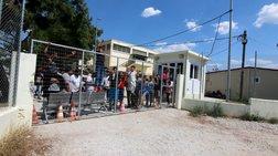 Αστυνομική επιχείρηση στο hot spot στα Διαβατά μετά τις συμπλοκές