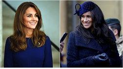 Δούκισσες στα μπλε: Κόντρα σε royal blue για Μέγκαν και Κέιτ...