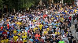 Μαραθώνιος: Μεγάλη κίνηση & μποτιλιάρισμα-Σε ισχύ οι ρυθμίσεις της Τροχαίας