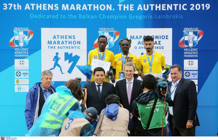 37ος Μαραθώνιος: Νικητής ο Κενυάτης Κόμεν, 3ος ο Κώστας Γκελαούζος - εικόνα 15