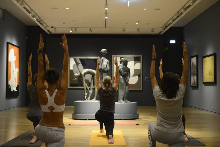 Σε ποιο μουσείο μπορείς να κάνεις γιόγκα κάθε Τρίτη και Πέμπτη; - εικόνα 2