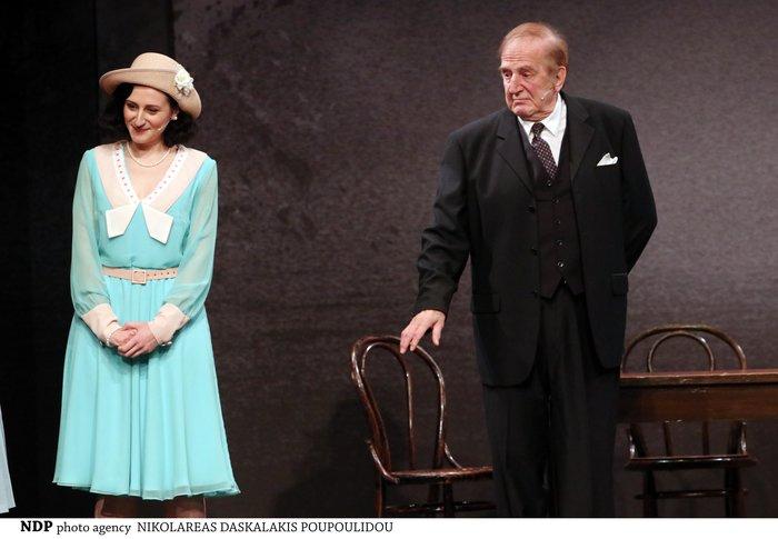 Γιώργος Κωνσταντίνου: Για πρώτη φορά παίζει στο θέατρο με την κόρη του Αννα