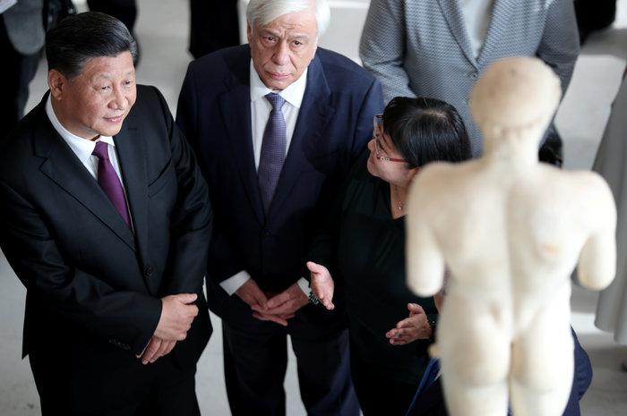 Ο Σι Τζινπίνγκ στο μουσείο Ακρόπολης: Εδώ είναι η θέση των Γλυπτών - εικόνα 3